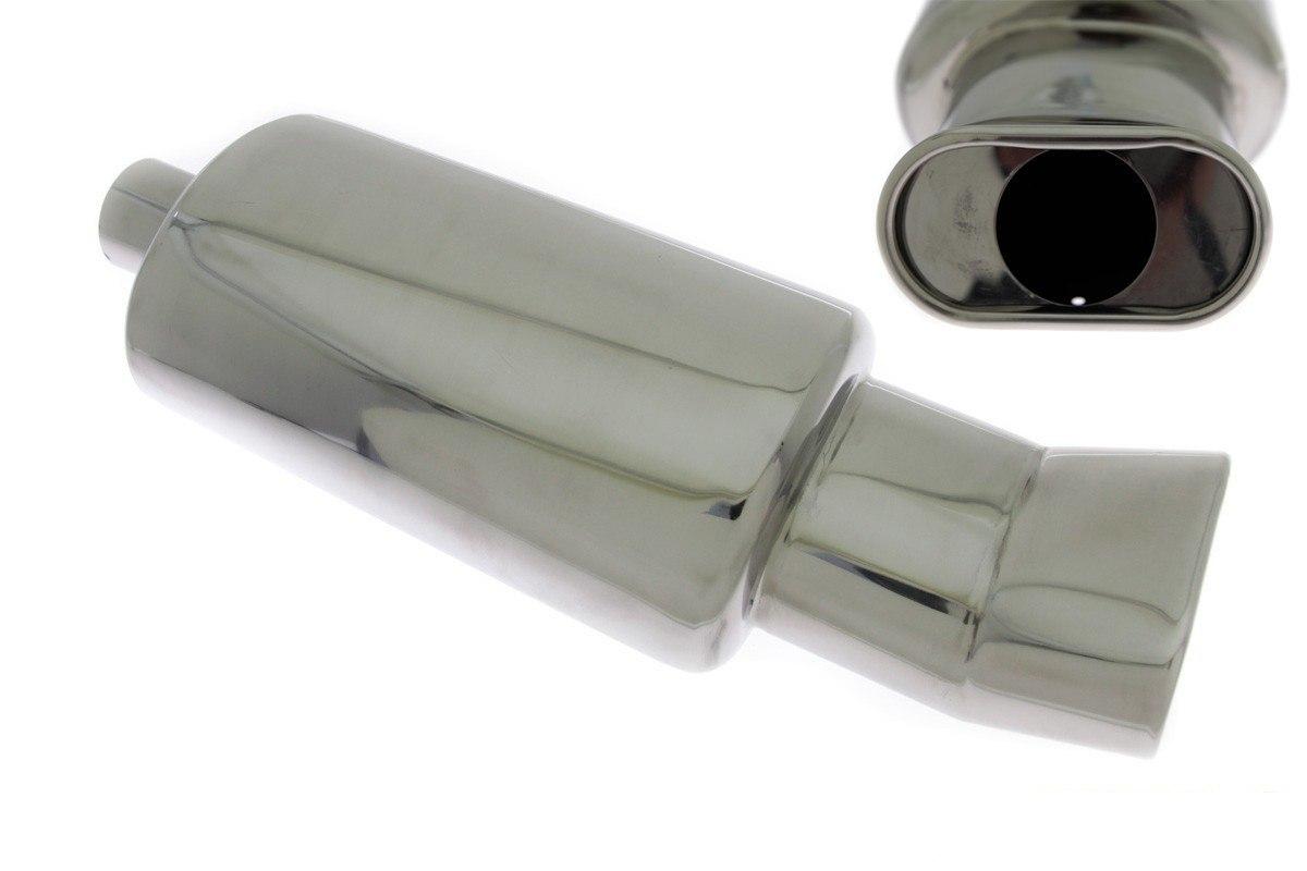 Tłumik Końcowy TurboWorks 80x135mm wejście 63,5mm - GRUBYGARAGE - Sklep Tuningowy